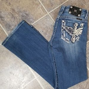 Miss me boot jeans 27x31